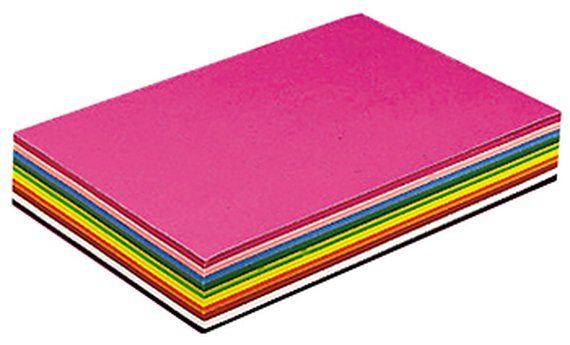 Tonpapier 360 Blatt sortiert