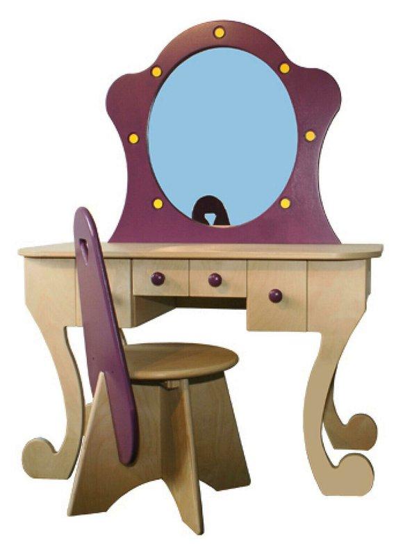 Make up tafel plus stoel