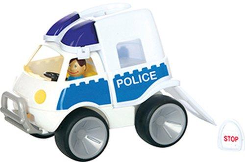 Polizeiauto mit Softwheels