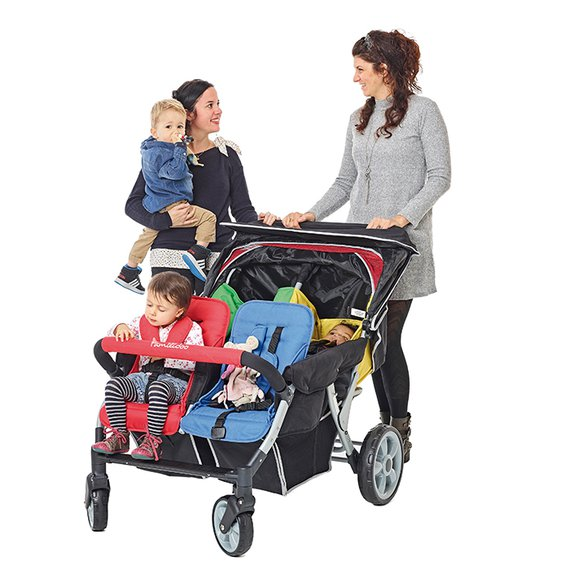Kinderwagen Lidoo Star BB+, 4-Sitzer