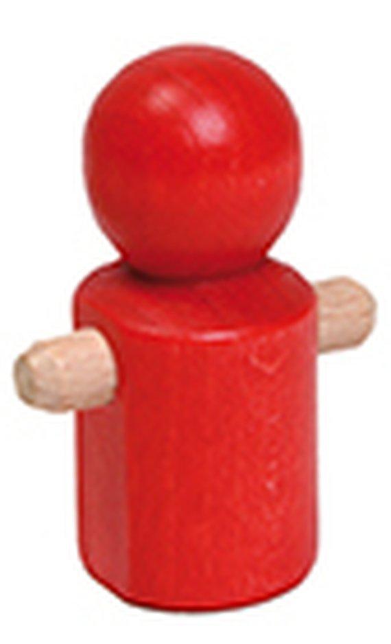 Draaimannetje rood