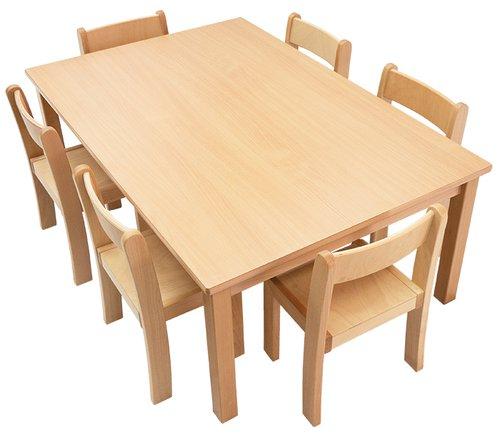 Tisch-Stuhl-Kombination Recto