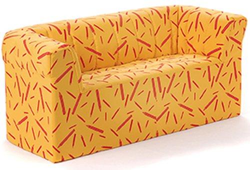 Zweisitzer-Sofa Kindergröße.