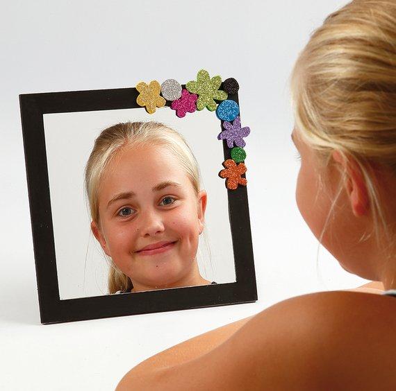 Spiegelfolie zelfhechtend