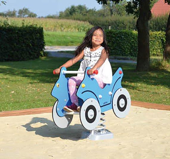 Federwippe Auto