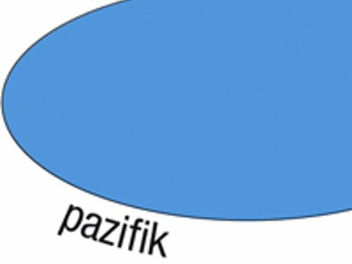 Bastelblock blau 25x35cm. 200 Blatt