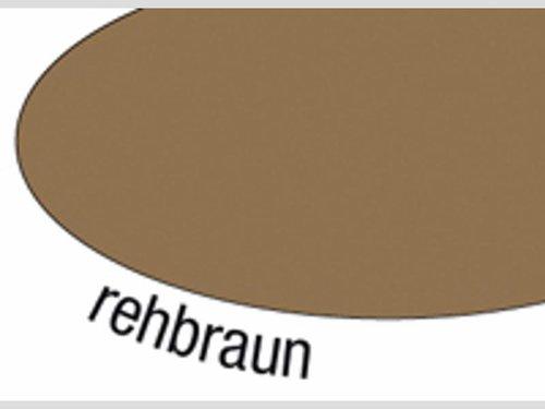 Zijdevloei 25 vel 50x70 cm bruin