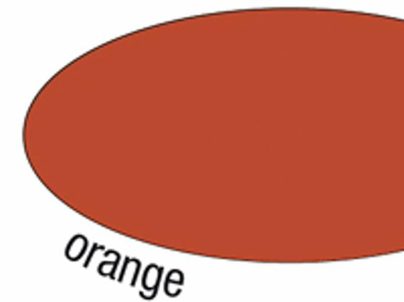 Dun Engels karton oranje 25 vel 50x70 cm