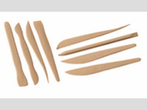 Modellierspachtel Kunststoff 14 Stück sortiert.