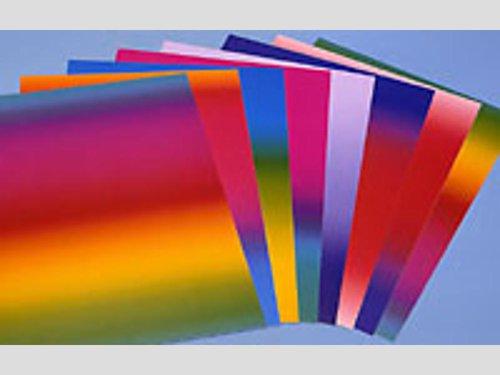 Regenboogpapier 34x49cm.