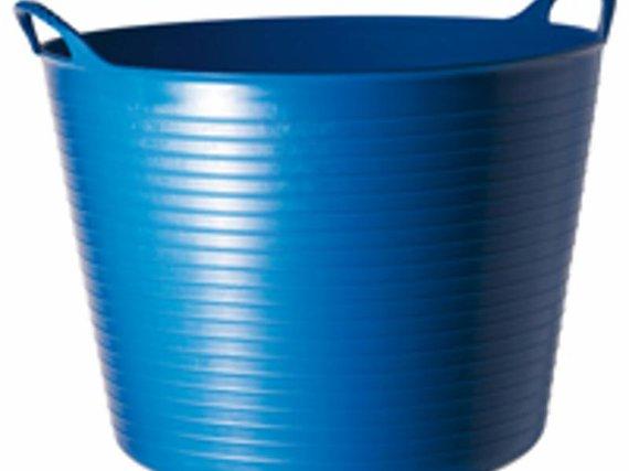 Tubtrug emmer 26 ltr. blauw