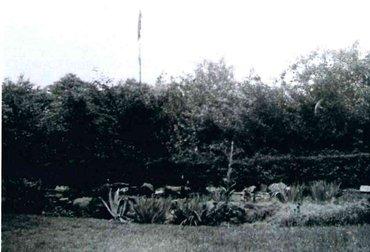 Heerlijkheid Beek 1933 paal met lappen