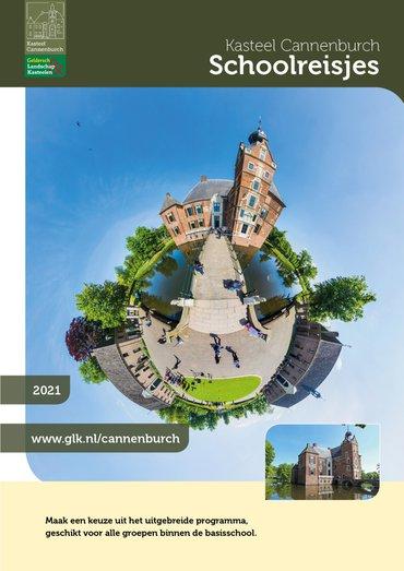 brochure Schoolreisjes naar kasteel Cannenburch