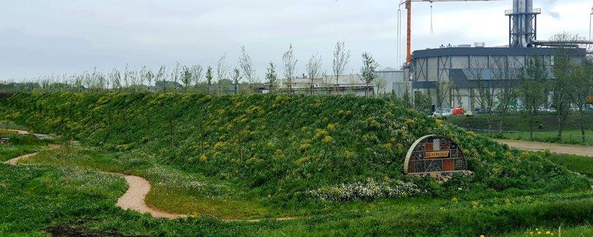 Natuurdijk bij Farm Frites