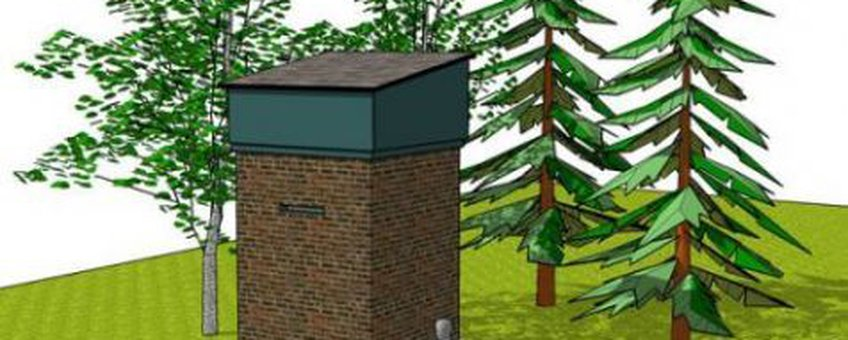 illustratie vleermuistoren