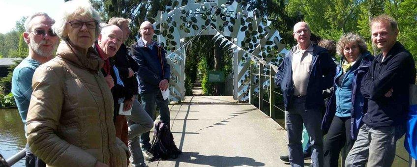 Opening van de Van der Sande Lacostebrug