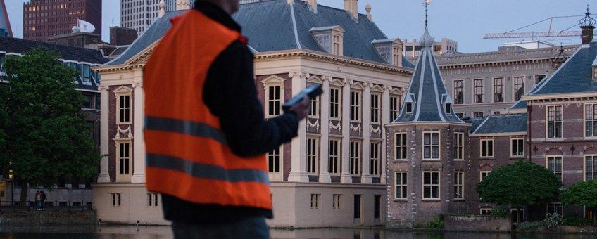 Vleermuisonderzoek bij het Binnenhof