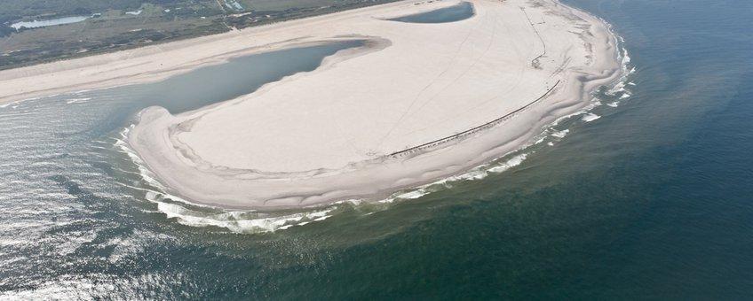 De Zandmotor in juli 2011