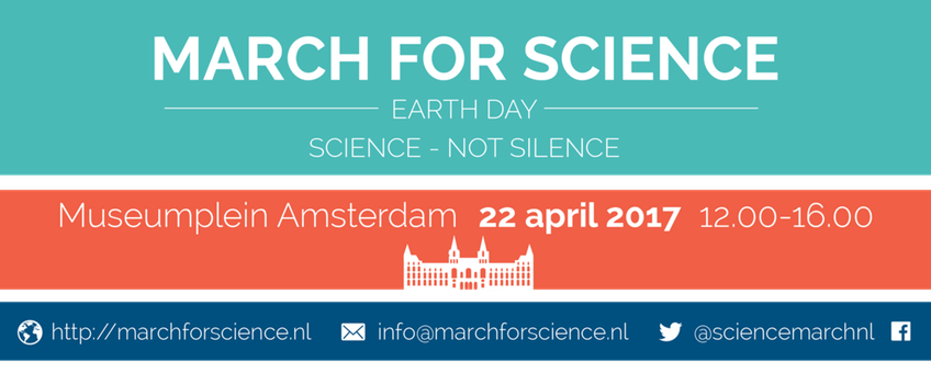 Banner March for science