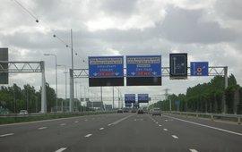 A8 bij Amsterdam