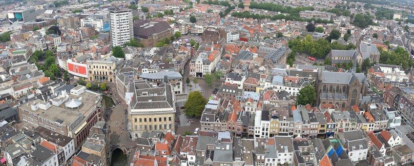 Utrecht van boven
