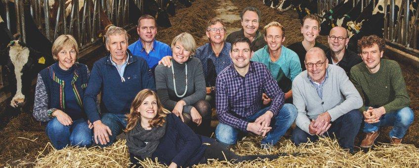 Genomineerde boeren voor de Gouden Grutto 2017