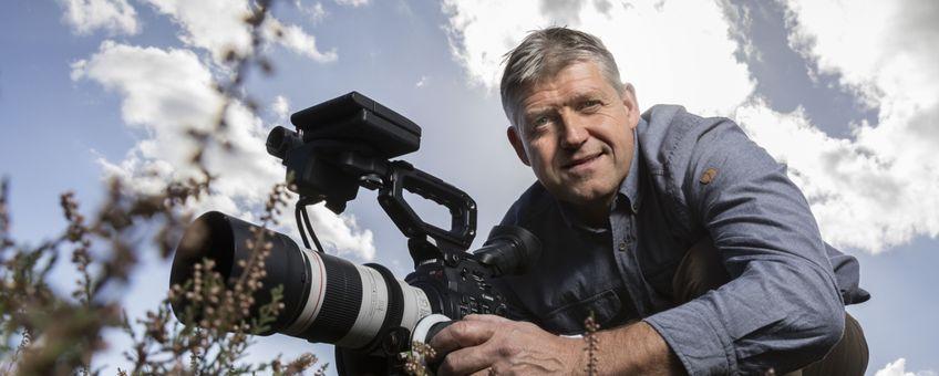 Mark Kapteijns, boswachter en natuurfilmer