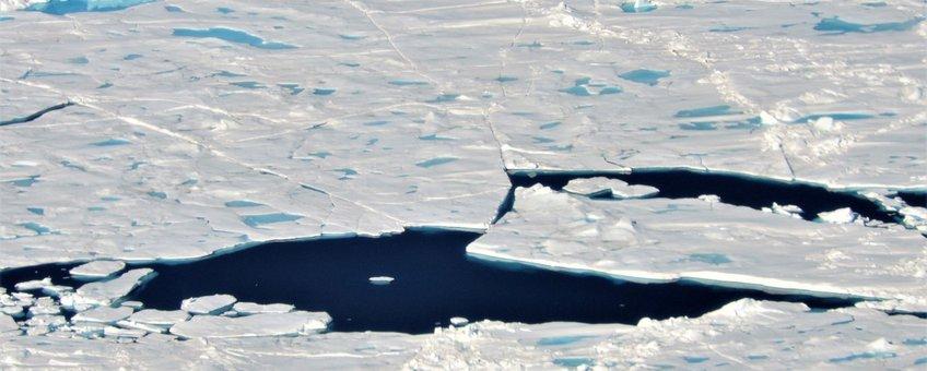 Operatie IceBridge flight op 25 juli 2017