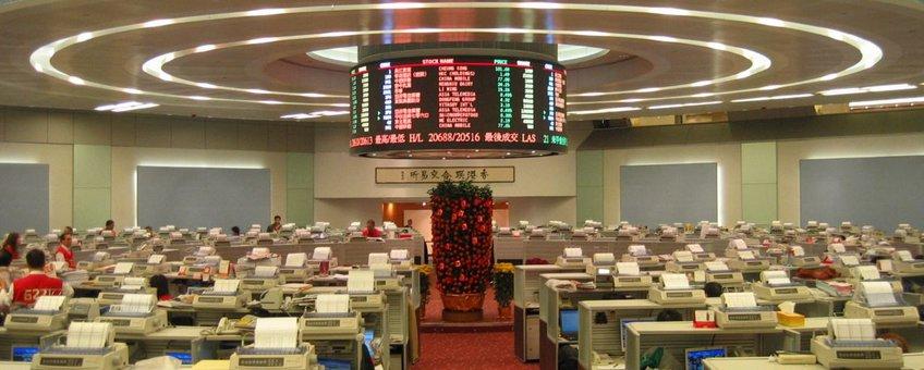 Hong Kong Exchange Trade Lobby Foto: WiNG, CCA-SA licentie