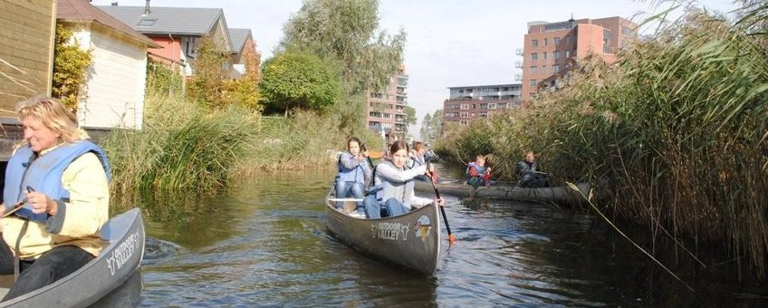 Kanotocht IJsselmonde