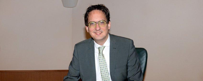 Burgemeester Michiel UitdeHaag