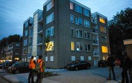 Vleermuizen wonen in allerlei soorten gebouwen, van rijtjeshuis tot flats