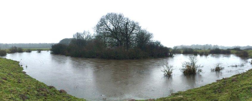 Oude rivierloop die bewaard is gebleven in het dal van de Overijsselse Vecht, daterend van 2400 jaar geleden. Deze rivierloop is een stuk kleiner dan de grote meanderbochten van na de Middeleeuwen. Er gingen veel lagere hoogwaterafvoeren doorheen