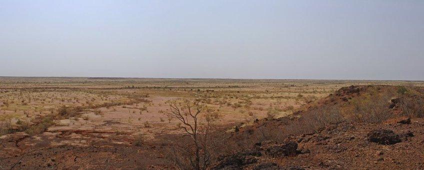 Panorama Balleraya, Niger.