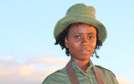 Eunice Mantei, ranger van IFAW's Team Lioness