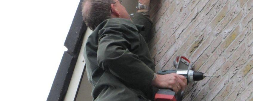 Plaatsing zwaluwnest in Brummen eenmalig gebruik