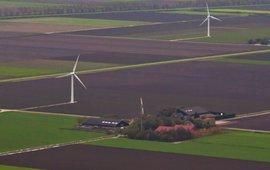 Grootstchalige en intensieve landbouw in zuidelijk Flevoland