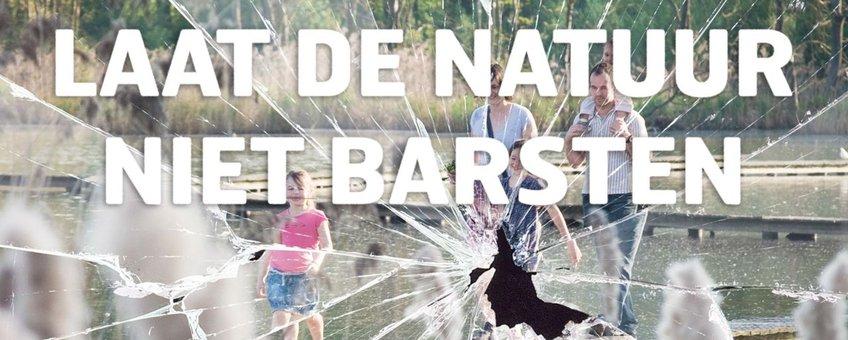 Laat de natuur niet barsten