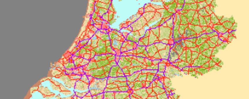 Groenmonitorkaart van Nederland op 2 februari 2014