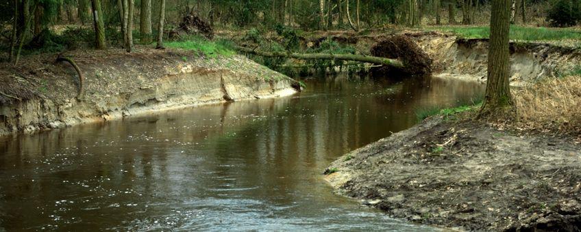 Omgeving Valkenswaard, riviertje De Tongelreep.