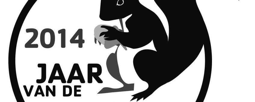 Logo jaar van de eekhoorn