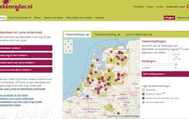 Screenshot Tekenradar.nl op 10 juli 2019