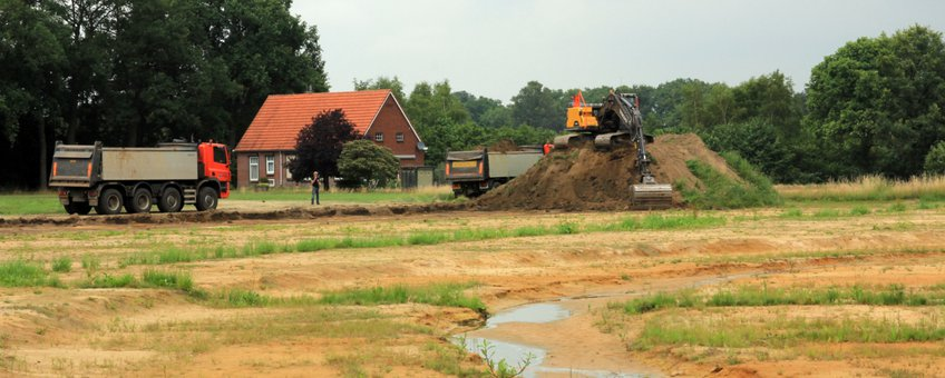 Aanleg nieuwe Osinkbeek Winterswijk