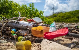 Plasticvervuiling op Bonaire