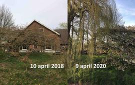 Sierkers Bennekom op 10 april 2018 en 9 april 2020