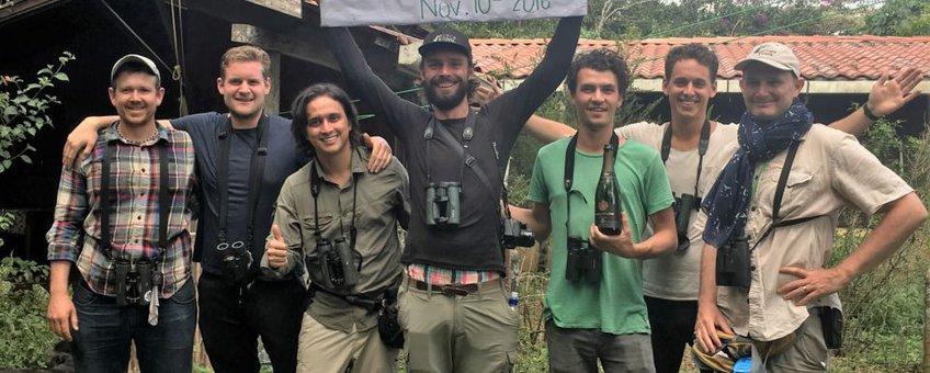 Arjan Breekt wereldrecord in Costa Rica