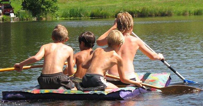 Actieve zomervakantie Creuse eenoudergezinnen