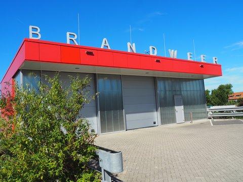 Renovatie gevel Brandweer Katwijk