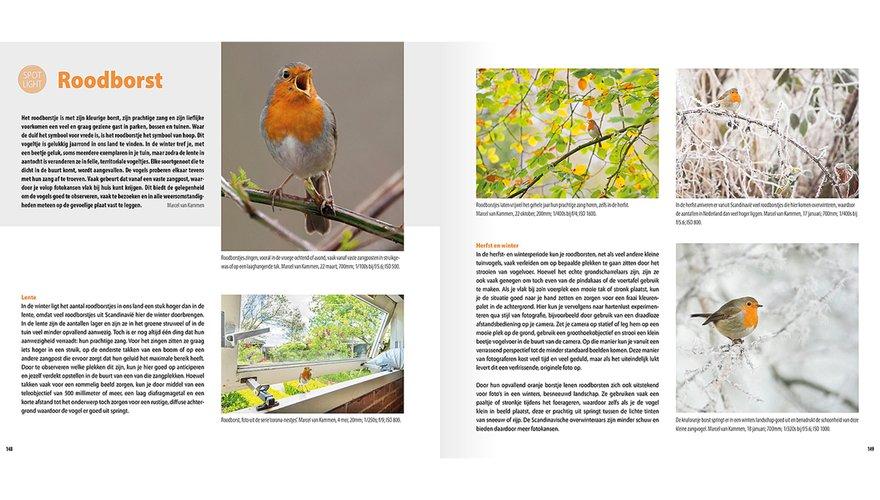 Spread Handboek Vogelfotografie