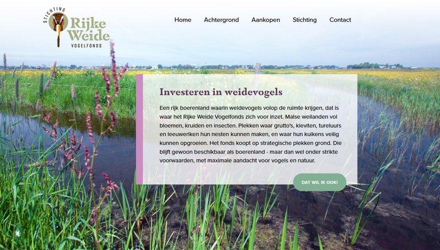 Rijke Weidevogelfonds homepage